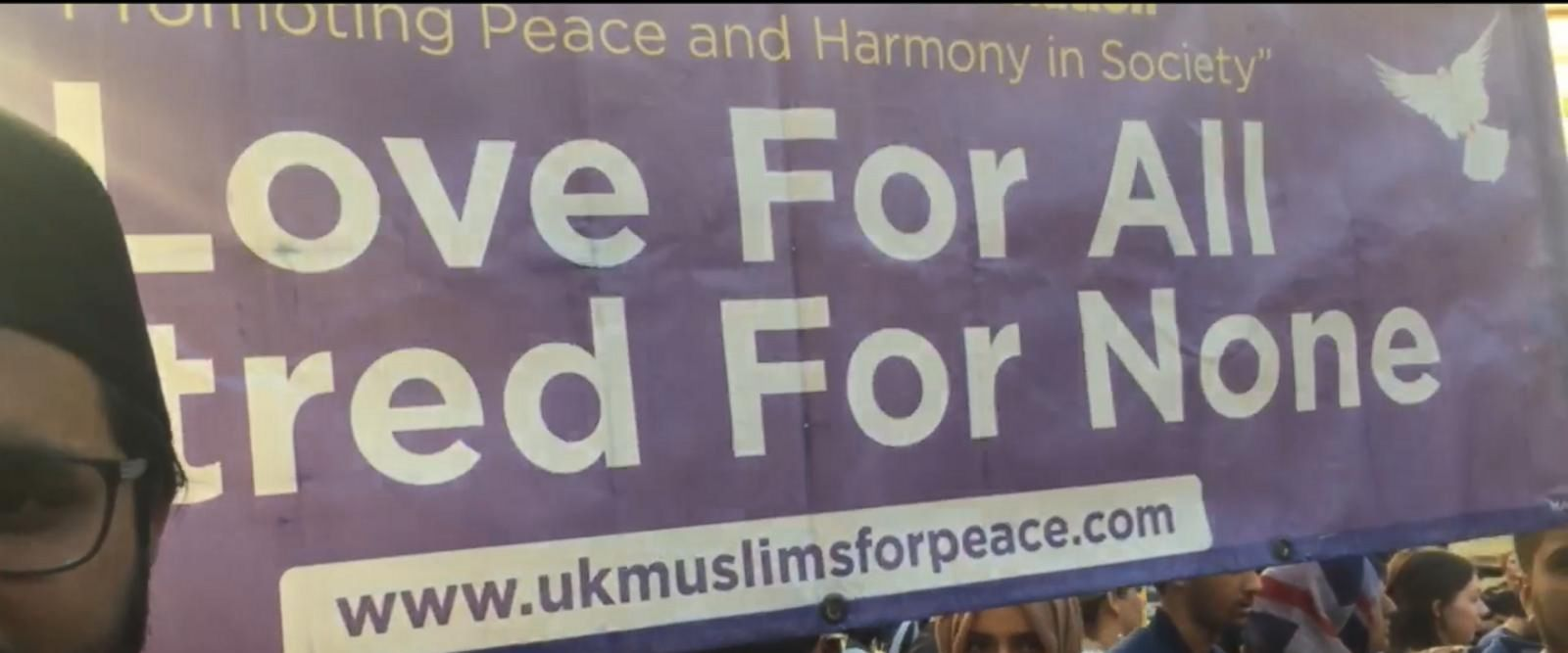 VIDEO: Multi-faith vigil held in downtown Manchester