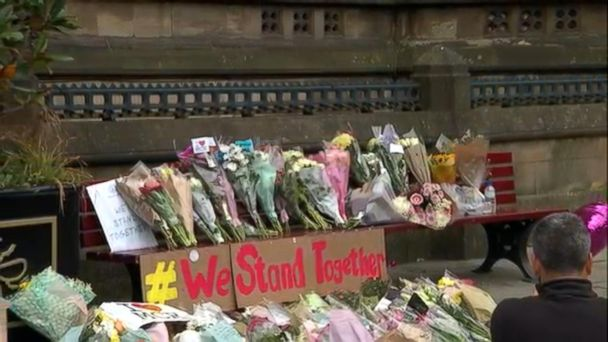 VIDEO: Manchester residents mourn as information on the suspected bomber comes to light