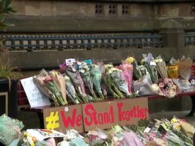 WATCH:  Manchester residents mourn as information on the suspected bomber comes to light