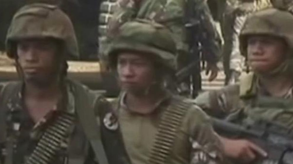 VIDEO:  Army battles ISIS-linked militants in besieged Philippine city