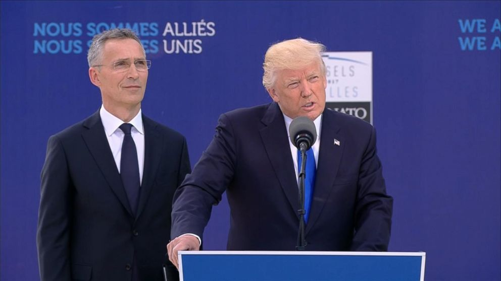 VIDEO: Trump blasts NATO allies for not paying fair share