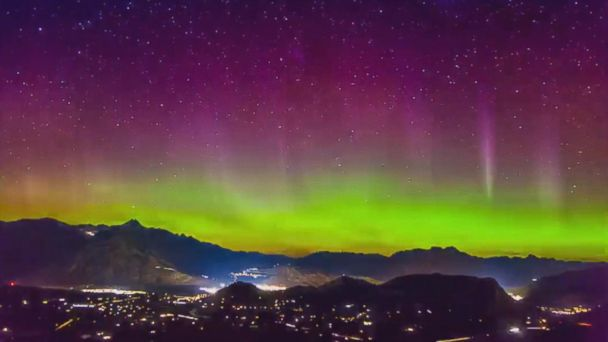 VIDEO: Dazzling Aurora Australis captured in New Zealand