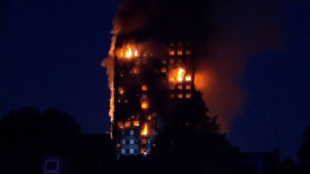 VIDEO: At least 79 people are missing and presumed dead from the massive fire that engulfed a residential high-rise building in London earlier this week, police said on Saturday.