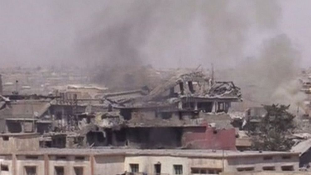 The Great Mosque of al-Nuri and its iconic leaning minaret was destroyed by ISIS militants in Mosul late Wednesday, according to the Iraqi government.