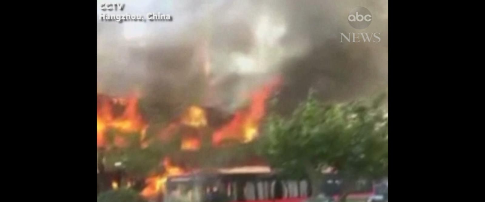 VIDEO: Suspected gas explosion kills 2, injures 55 in eastern China