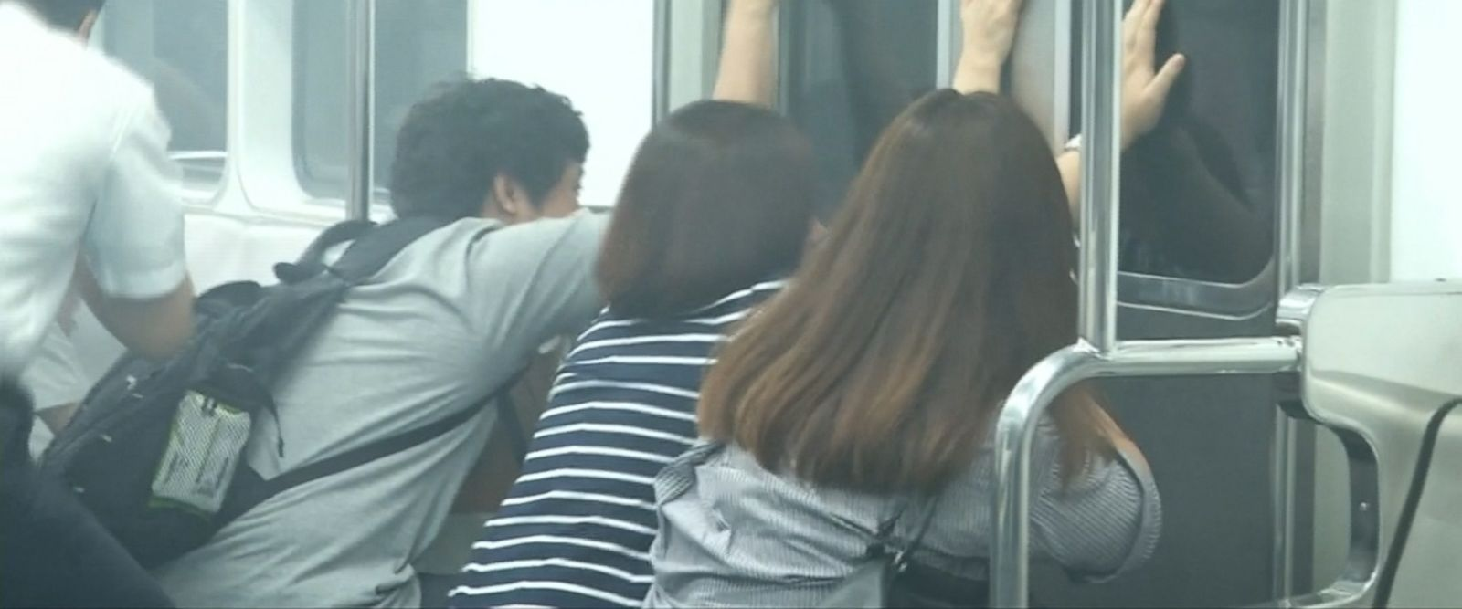 Seoul Metro conducted an anti-terror drill involving police and emergency workers which used various scenarios, such as poison gas being released in a subway car.