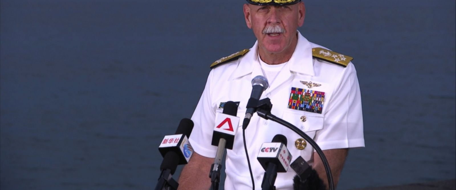 """""""When tragedy like this is one too many, and while each of these four are unique, they cannot be viewed in isolation,"""" Admiral Scott Swift said during a press conference today."""
