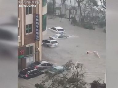 WATCH:  Typhoon Hato makes landfall in Hong Kong