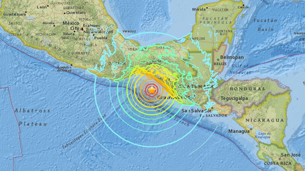 Magnitude-8.2 earthquake rocks southern Mexico, felt in ...