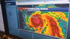 VIDEO: Hurricane Maria strengthens to Category 4