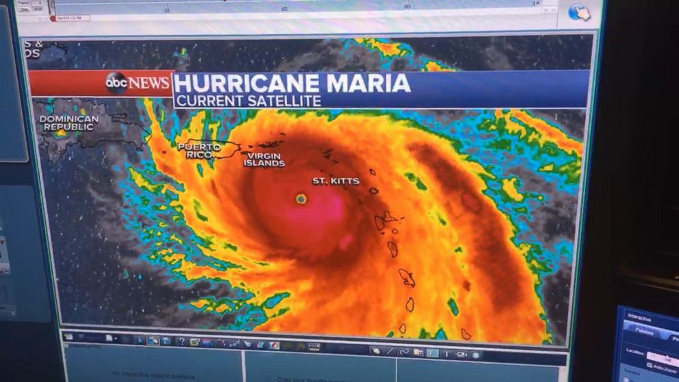 Category 5 Hurricane Maria Could Directly Hit Puerto Rico