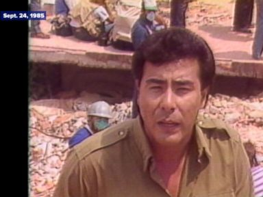 WATCH:  Tales of survival from Mexico's 1985 earthquake