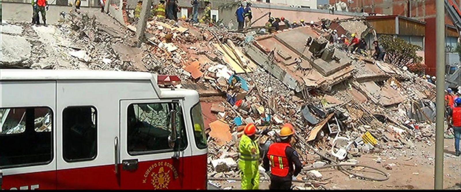 A 7.1 magnitude earthquake struck Tuesday, killing hundreds.