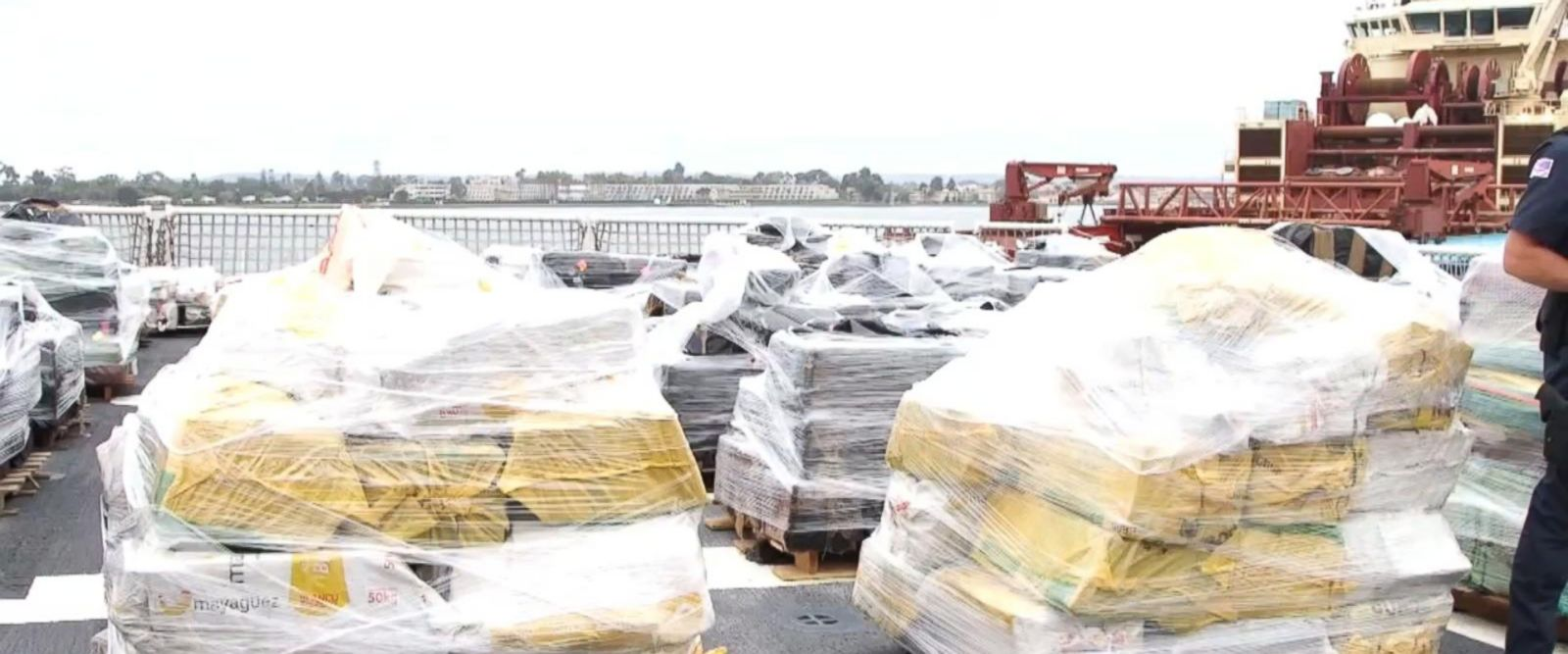 VIDEO: Record-breaking year in cocaine seizures for the Coast Guard