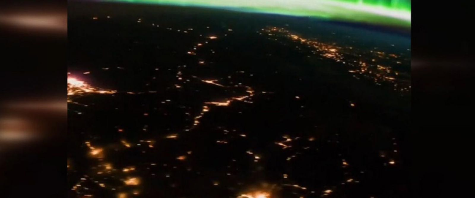 VIDEO: Aurora Borealis as seen from the ISS