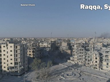 WATCH:  Drone soars over Raqqa, shows flattened, crumbling buildings