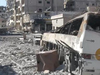 WATCH:  Drone footage shows widespread Raqqa destruction
