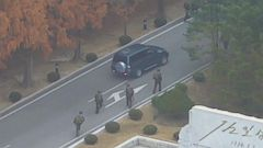 VIDEO: Dramatic video shows North Korean soldiers defection