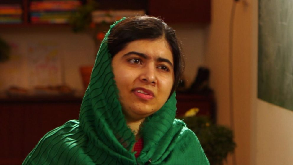 Apple's  Tim  Cook  and Malala team up