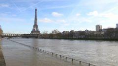 Paris is under siege from near record-breaking rain.