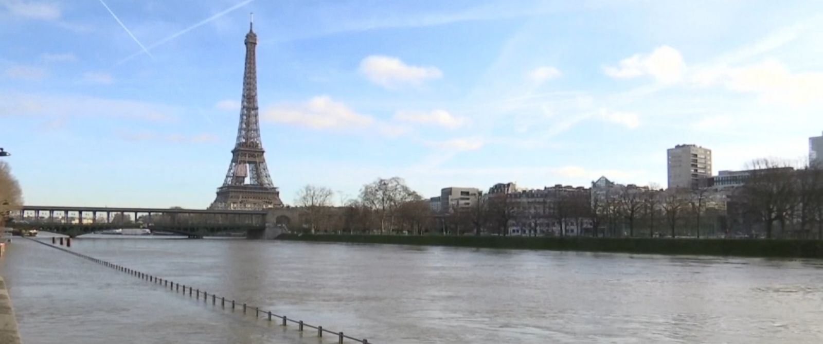 Paris is under siege from near record-breaking rain.