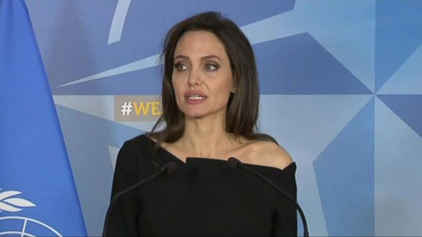 New ESl lesson plans - Angelina Jolie joins forces with NATO to tackle crimes against women in war zones