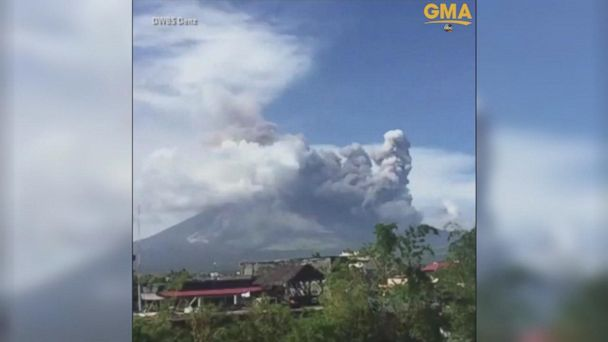 New ESl lesson plans - Philippines volcano seen from space in satellite images