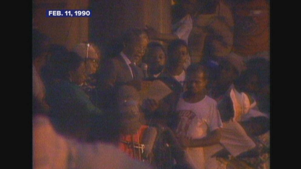 Feb. 11, 1990: Nelson Mandela released from prison