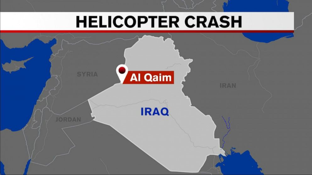 7 US airmen die in helicopter  crash  in Iraq after hitting power line