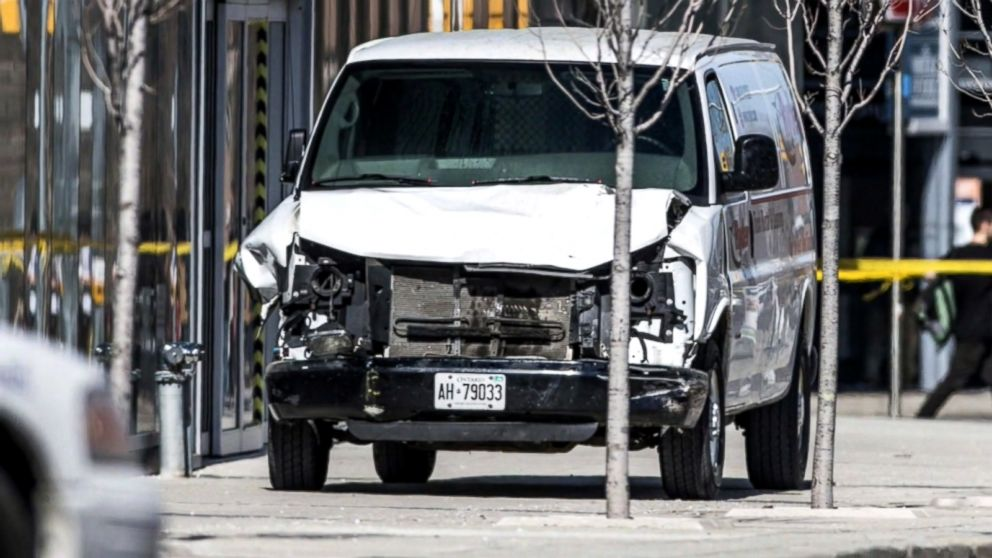 Suspect in Toronto van attack charged with murder