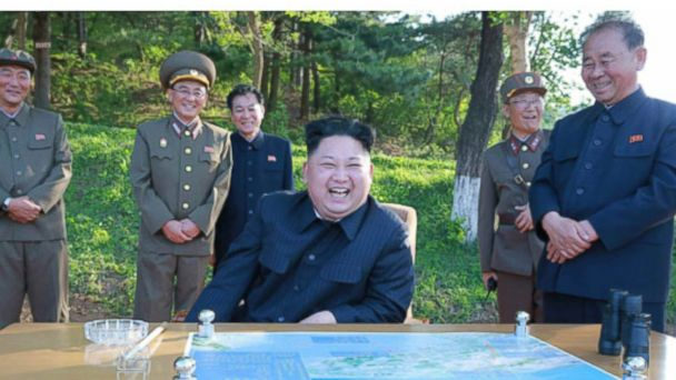 PHOTO: North Korea test fired an intermediate-range ballistic missile on May 22, 2017 according to state media.