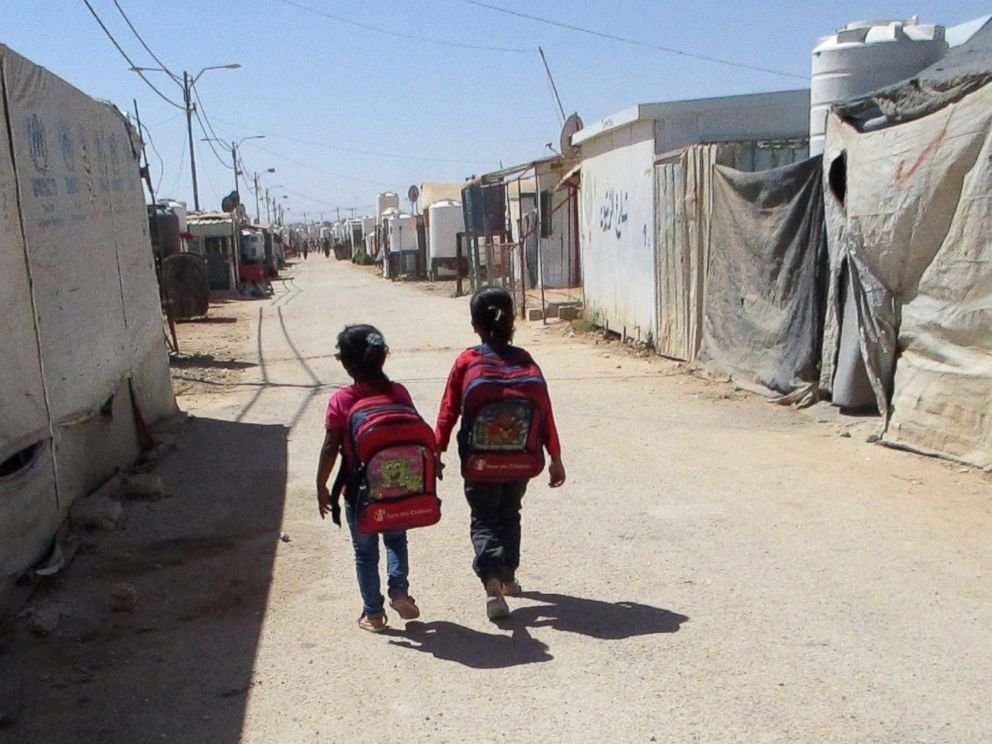PHOTO: Children from our neighborhood go to a learning center.