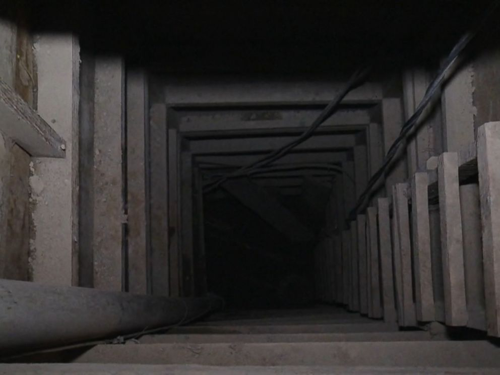 PHOTO: One of the entrances to the tunnel used by Joaquin El Chapo Guzman to escape from prison.