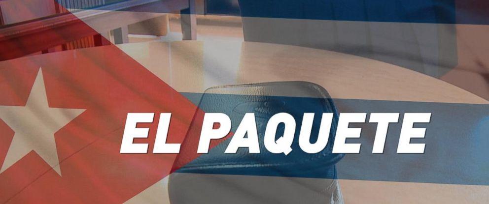 PHOTO:El Paquete provides an alternative to broadband Internet for Cubans.