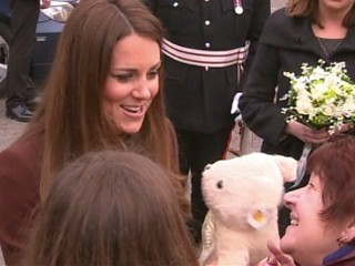 Watch: Is This the Moment Kate Middleton Slipped?