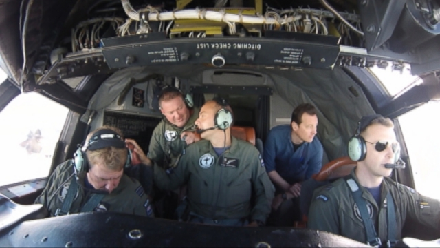 VIDEO: ABC News Clayton Sandell joins the Royal New Zealand Air Force in their search for the missing Malaysia Airlines plane.