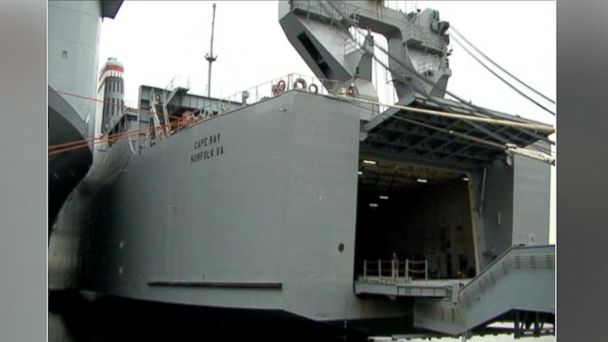 ABC cape ray wide 2 sr 140103 16x9 608 A Look at the Massive Ship Will Destroy Syrias Chemical Weapons