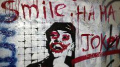 PHOTO: Street artist named Joker has been breaking the unwritten rule: Dont mess with other ppls work #InsideIran.