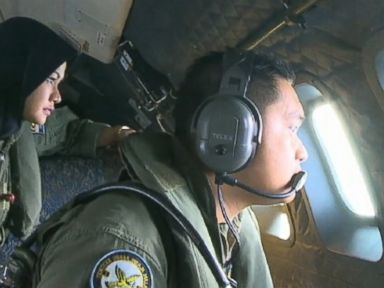 Flying With Searchers Looking for Missing Plane