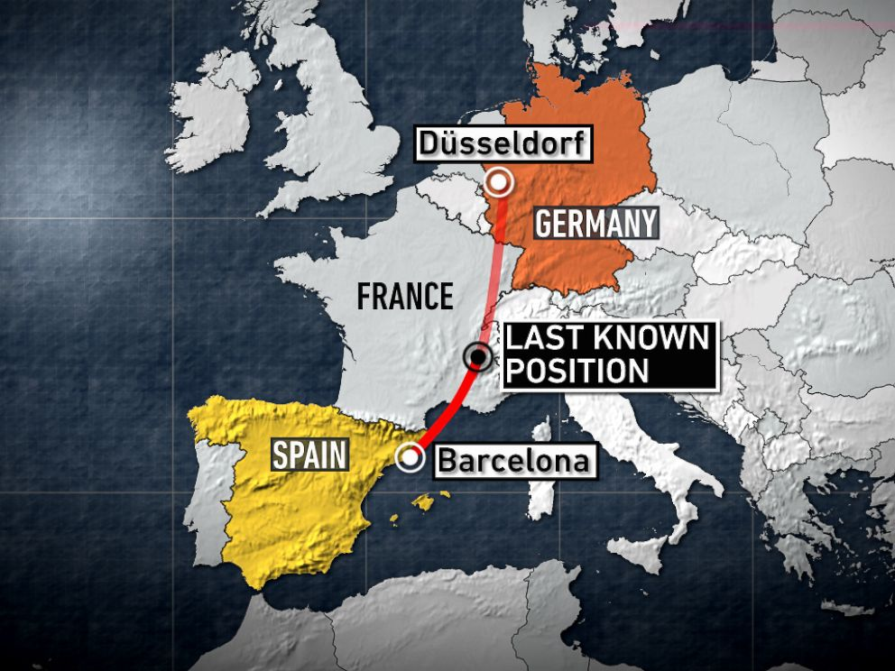 PHOTO: A Germanwings passenger plane crashed in southern France killing all on board.