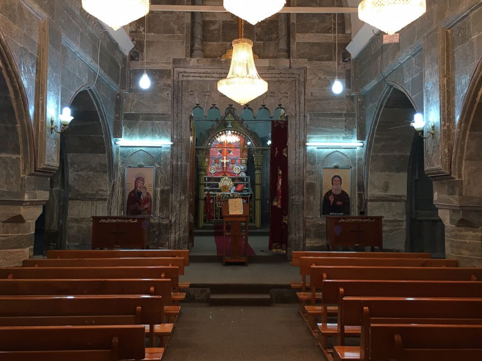 PHOTO: Inside the Mar Mattai monastery in northern Iraq on Oct. 26, 2016.