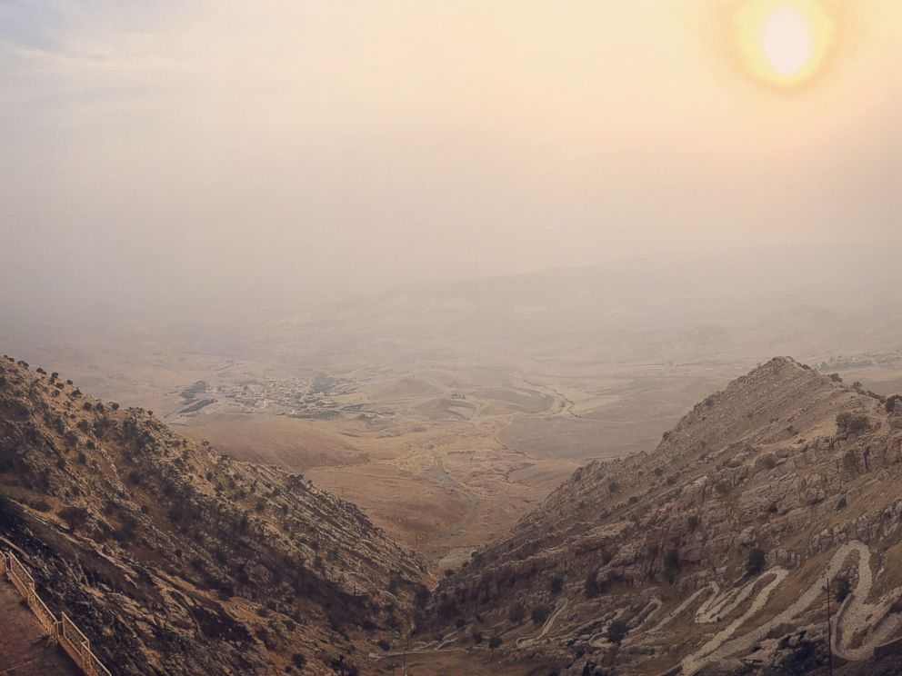 PHOTO: Mar Mattai monastery located atop Mount Alfaf in northern Iraq and is 20 kilometers from Mosul.