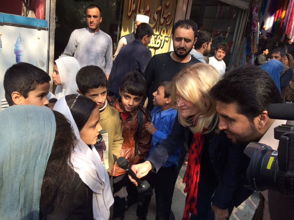 PHOTO: ABC News Chief Global Affairs Correspondent Martha Raddatz on the streets of Kabul on Oct. 21, 2015.