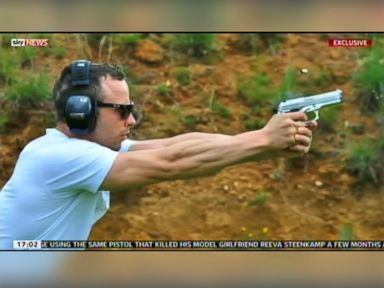 Photos Show Pistorius at Range With Gun Reportedly Used in Killing