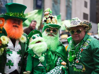Photos: The Crazy Characters of St. Patricks Day