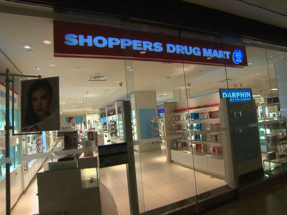 PHOTO:The exterior of Shoppers Drug Mart in Toronto is seen in this undated file photo.