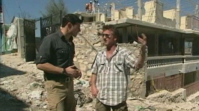 VIDEO: Matt Gutman follows Sean Penn on a tour of the devastation in Haiti.