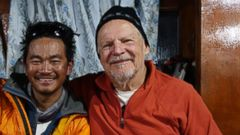 VIDEO: Ed Marzec, 67, lost his friend, a Sherpa guide, in a deadly avalanche on the mountain.