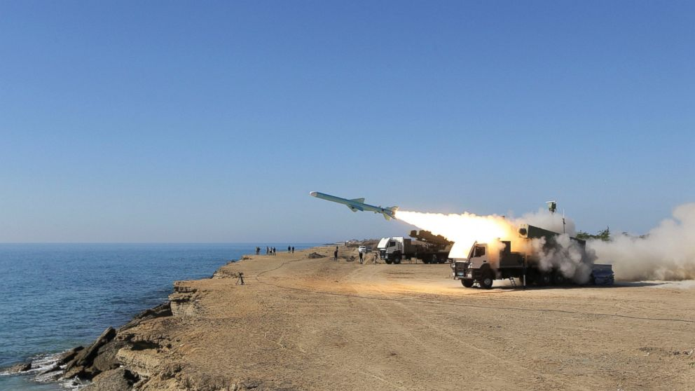 Iran test-fires high speed torpedo near Strait of Hormuz