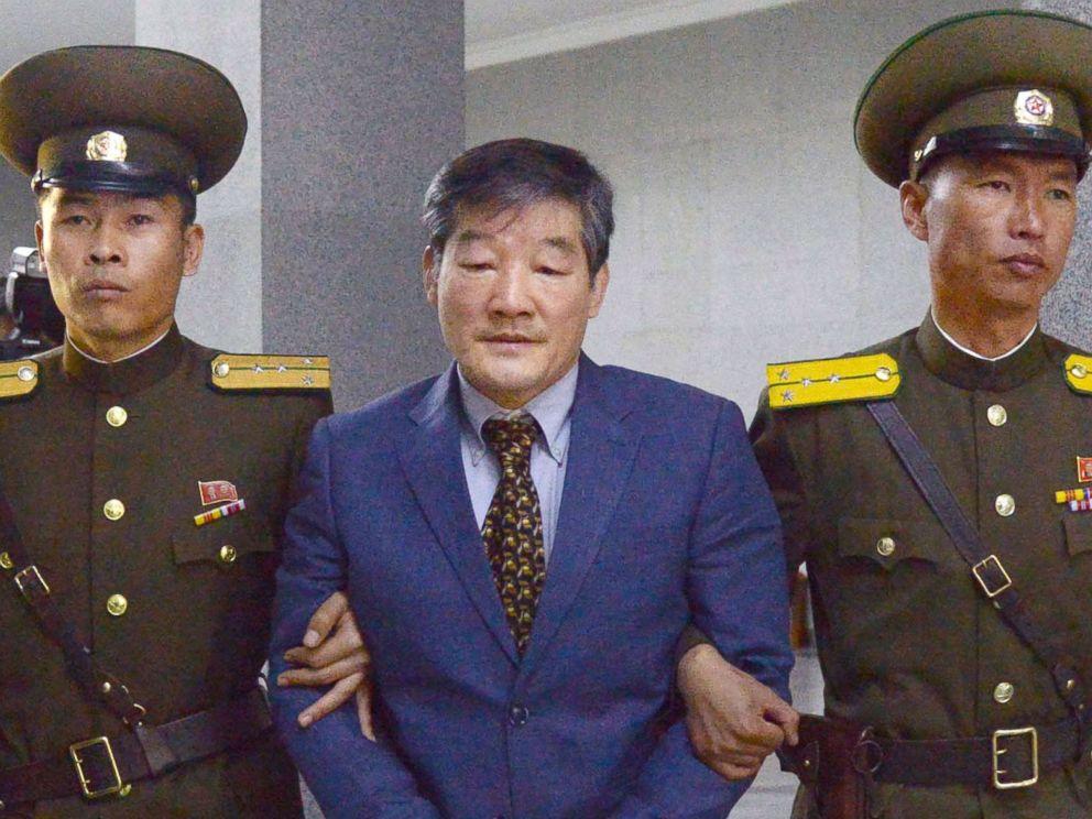 North Korea 'detains USA citizen Kim Hak-song'